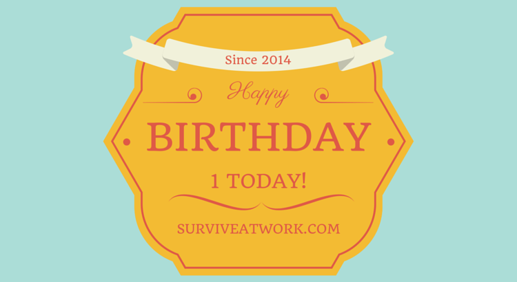 Survive at Work, your one stop resource for work skills, work resources, work tools and work motivation. Hate work? Want promotion? Survive at work will help you thrive at work. Monday Motivation.