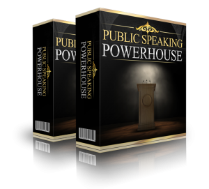 Public Speaking Powerhouse, Public speaking panic, nerves, anxiety, confidence, memorizing, memorising, writing a speech, speech writing